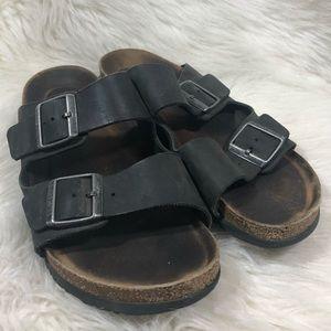 Birkenstock Arizona Black Double Strap Sandals